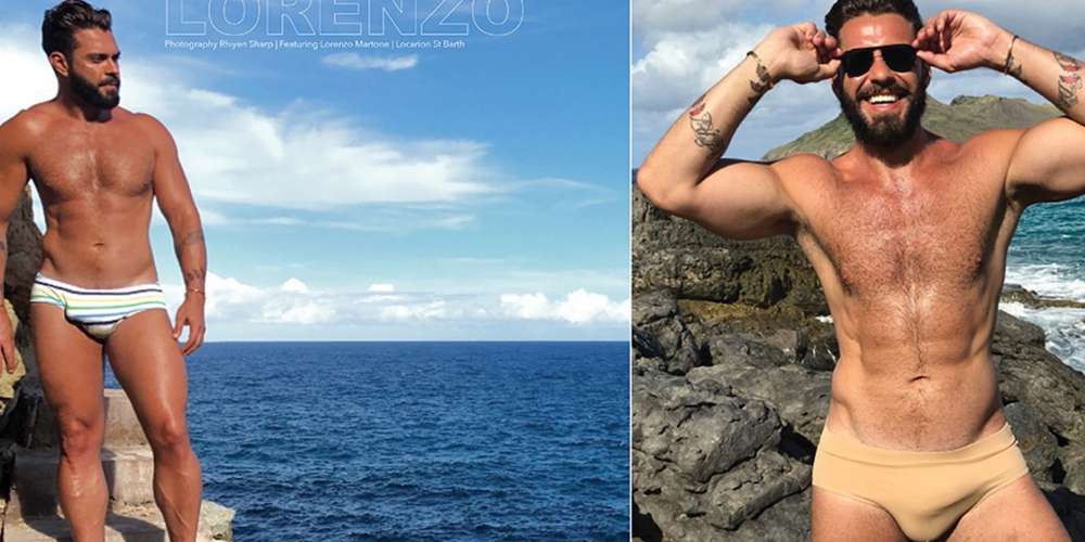 Beach Hunk Lorenzo Martone Causes a Midwinter Heat Wave (Photos)
