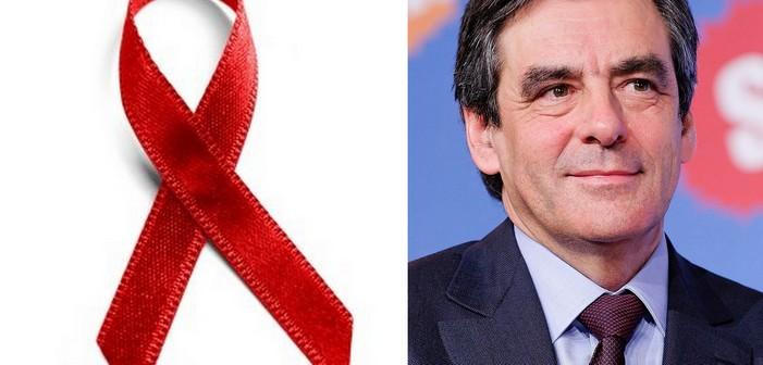 François Fillon interpellé par les militant.e.s de la lutte contre le sida