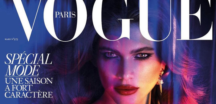 Valentina Sampaio, une top model trans en une de «Vogue»