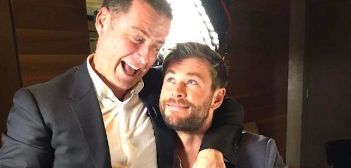 Watch This Straight Aussie Newscaster Thirst Hard After Chris Hemsworth (Video)