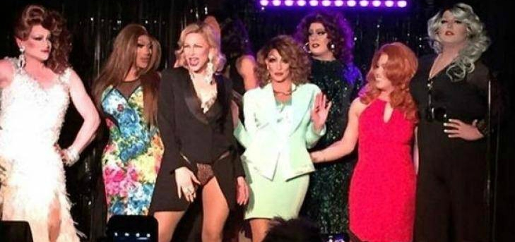 Cate Blanchett Got Up in That Gig and Performed in Drag at Stonewall (Video)