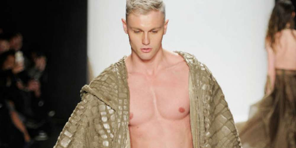 3 Times Nude Male Models Rocked the Runway