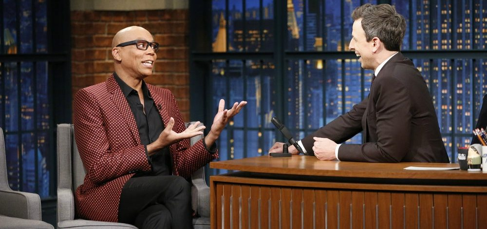 RuPaul Dishes About Lady Gaga, Moving to VH1 and Prostitutes with Seth Myers (Video)