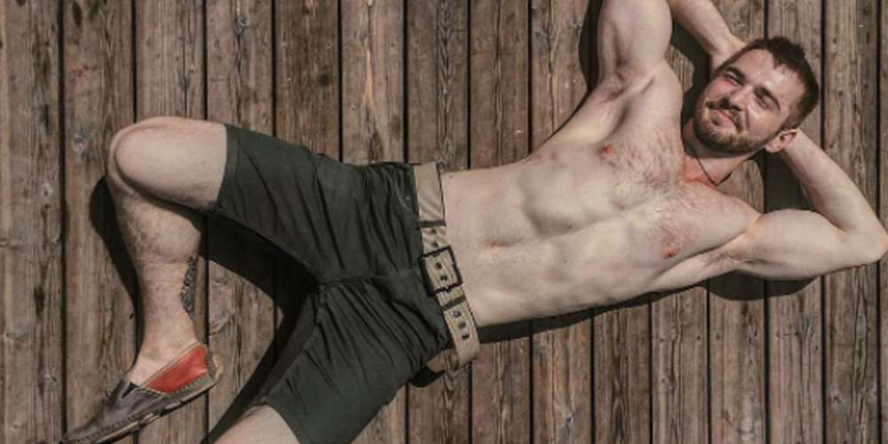 Let's Drool Over These 10 Pictures of a Scruffy Russian Hunk (Photos)