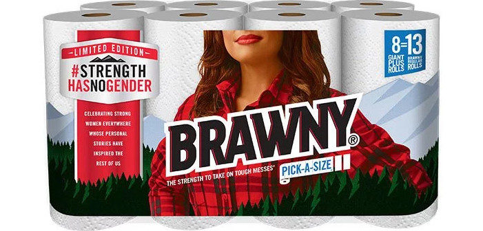 In Case You Were Wondering, the 'Brawny Man' Is Totally a Lesbian Now