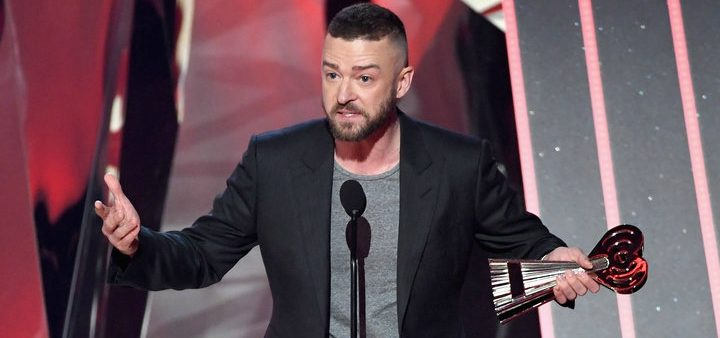 Watch Justin Timberlake's Touching Speech to LGBTQ Youth at the iHeart Radio Music Awards (Video)