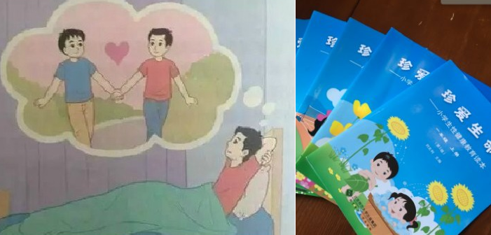 This Chinese Sex Education Book Teaches Children About Homosexuality