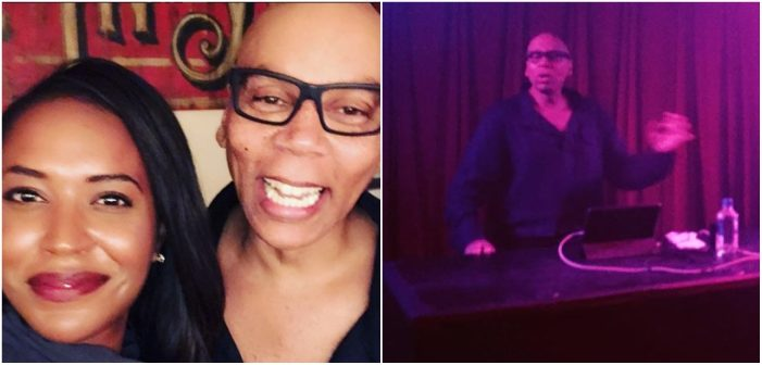 RuPaul DJ'd a Benefit for Planned Parenthood, and It Was Everything (Video)