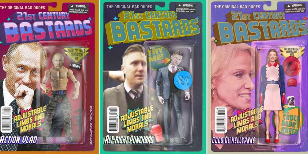 You'll Want These Action Figures of Trump and His Cronies