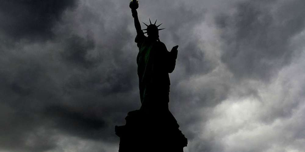 The Statue of Liberty 'Went on Strike' for International Women's Day By Going Dark