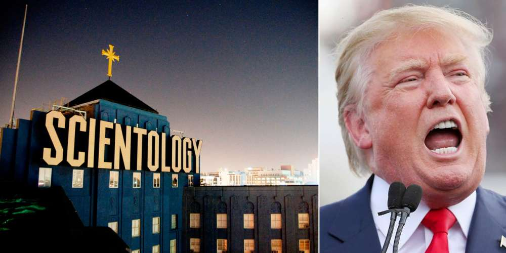 Donald Trump and Scientology: Yes, There's a Weird Connection