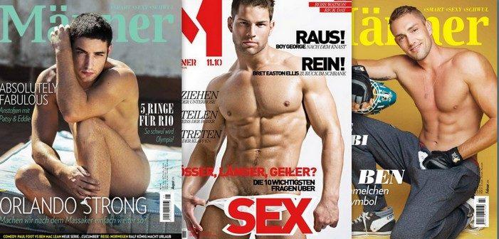 Les éditions Bruno Gmünder arrêtent le magazine 'Männer' après 30 ans de diffusion (photos)