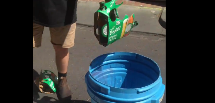 Australians Dumped Drinking a Beer Over Its Anti-Gay Bible Campaign