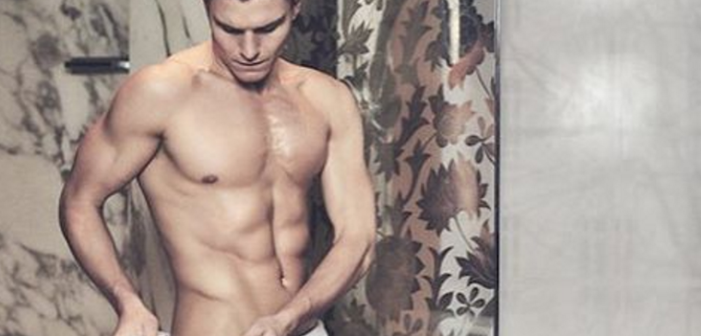 Oliver Cheshire Wears Next to Nothing in This Steamy Photo Shoot (NSFW)