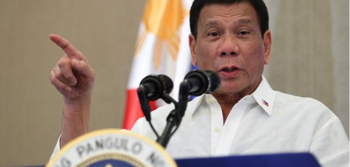 Philippine President Duterte Breaks Promise to Support Same-Sex Marriage