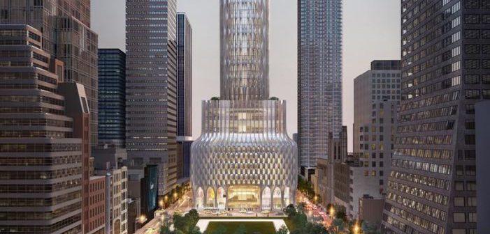Un proche de Trump veut ajouter un gigantesque 'gode'  à la skyline de Manhattan