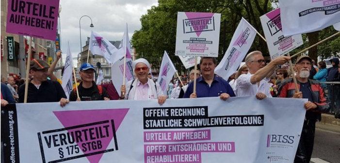 Le gouvernement allemand veut annuler les condamnations des homosexuels en raison du Paragraphe 175