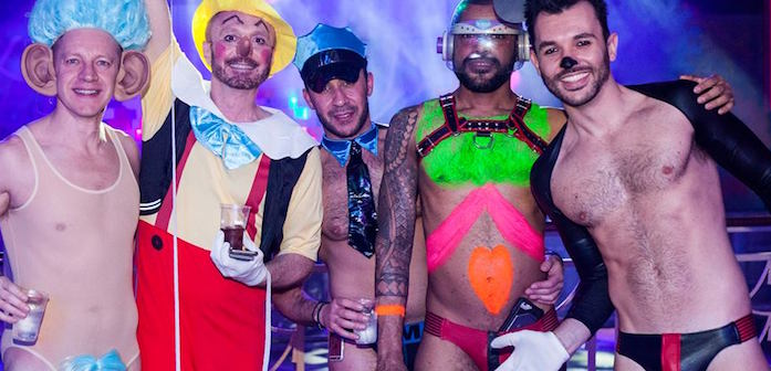 Sink the Pink's 'Toys' Party Had Some of the Wildest Costumes We've Ever Seen (Photos)