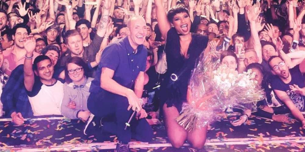 Jennifer Hudson Belts Out 'And I Am Telling You' to Packed Gay Club (Video)