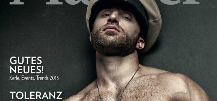 Dix couvertures sexy du magazine 'Männer' qui cesse de paraître