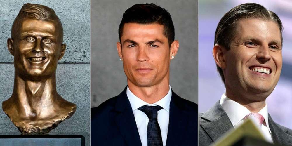 This Horrible Statue of Cristiano Ronaldo Actually Looks More Like Eric Trump