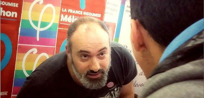 Être chargé des questions LGBT dans l'équipe de campagne de Jean-Luc Mélenchon, ça sert à quoi?