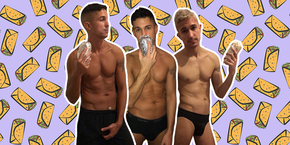 Thick and Meaty: Follow This Burrito Hunk's Instagram on National Burrito Day