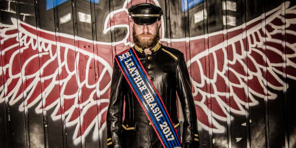 Meet the First Mr. Leather Brazil, Who Might Just Become International Mr. Leather!
