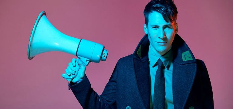 Dustin Lance Black Signs Modeling Contract Because of Donald Trump