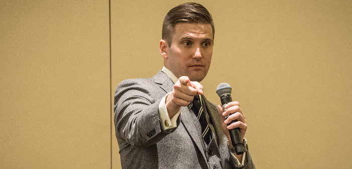 White Nationalist Richard Spencer Got Pulled from a Cab and Glitter Bombed Last Weekend
