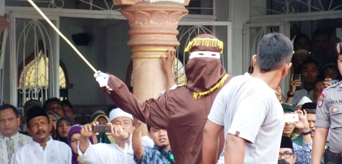 Indonesian Couple Faces 100 Lashes of the Cane for Being Gay
