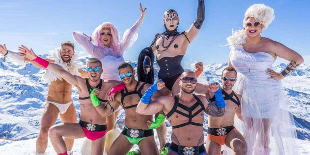 We Spent European Gay Ski Week with Davey Wavey, Hot Gogo Boys and Tea-Spilling Drag Queens (Video)