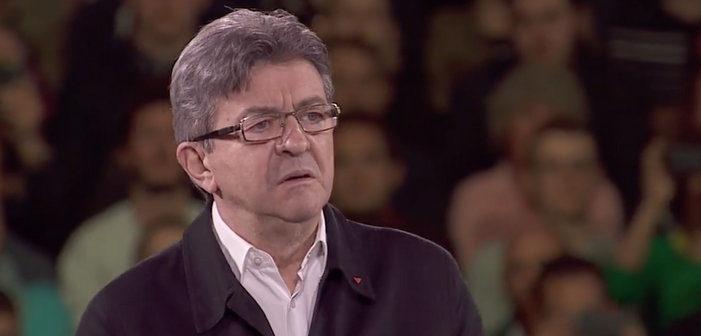 Jean-Luc Mélenchon évoque la situation des homosexuels dans le monde lors d'un meeting à Lille (vidéo)