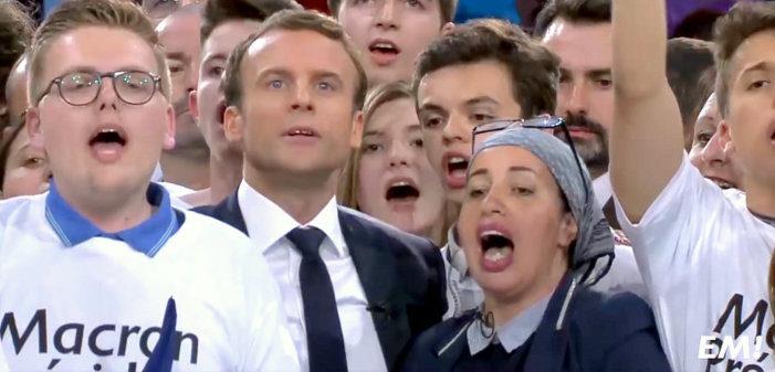 Emmanuel Macron fustige Sens commun, que François Fillon verrait bien au gouvernement