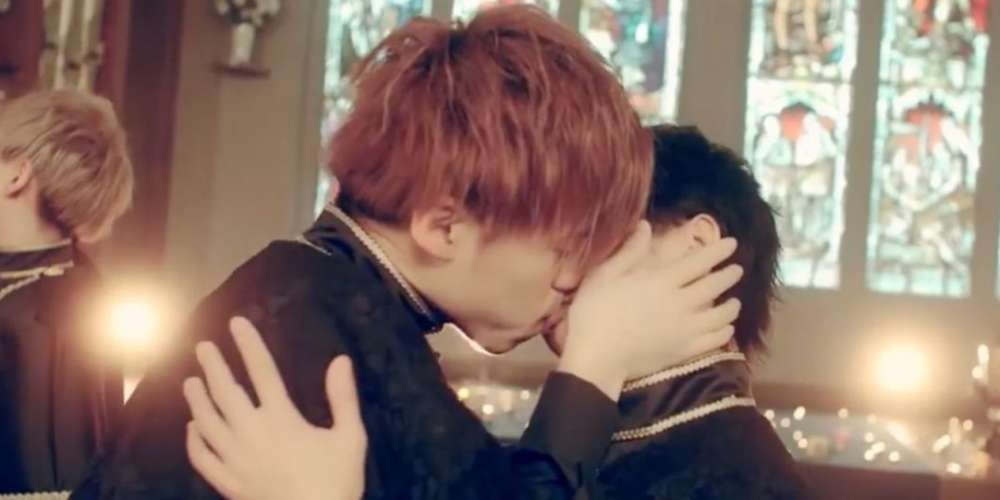 Japanese Boy Band Kisses Each Other 36 Times in Their New Video