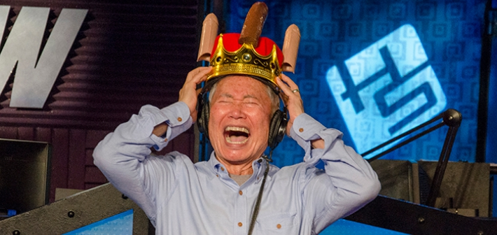For George Takei's Birthday, Howard Stern Gifted Him 80 Feet of Penis (Video)