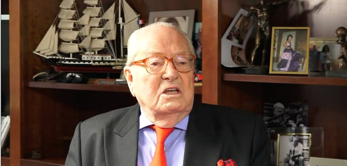 Far-Right French Candidate Marine Le Pen's Father Condemns Tribute to Fallen Gay Policeman