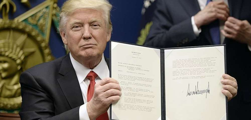 Did Donald Trump Just Screw the LGBTQ Community With Today's Executive Order?