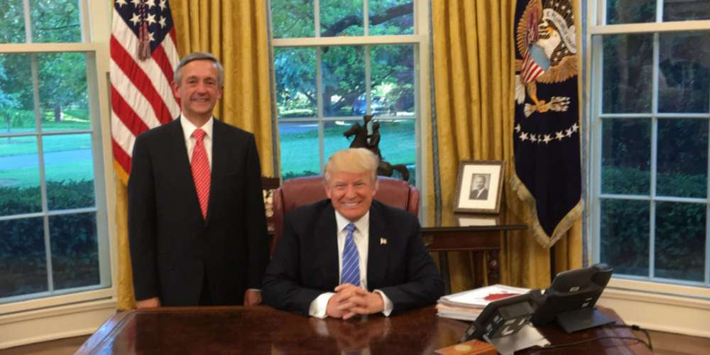Donald Trump Posed for a Photo with a Pastor Who Said All Gay Men Want to Molest Children