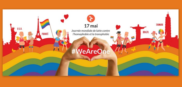 #WeAreOne : Avec Hornet, montrez votre soutien à l'IDAHOT 2017