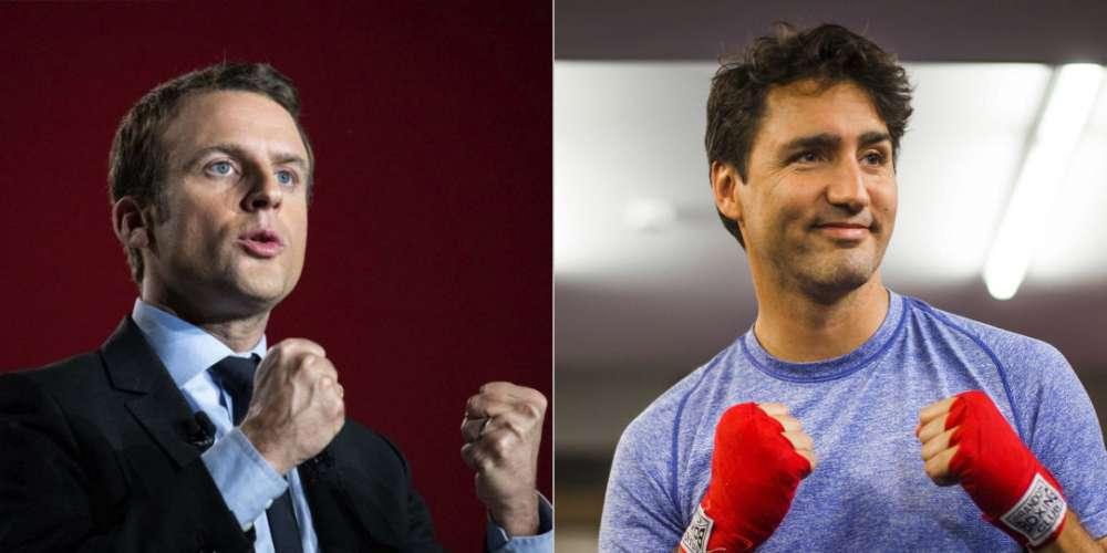 Trudeau ou Macron? Twitter se déchaîne pour savoir qui est le plus  sexy