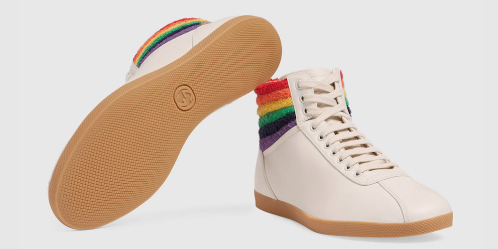 Gucci Has Slayed the Shoe Game With These Special Pride Sneakers