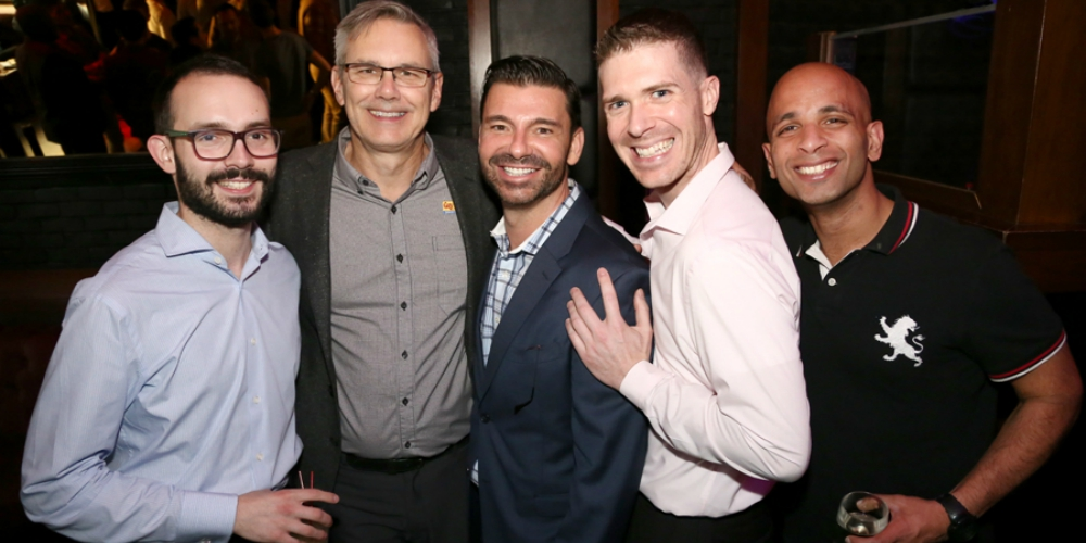 Hornet Hosts a Special 'Stung' Networking Event for LGBT Week (Photos)