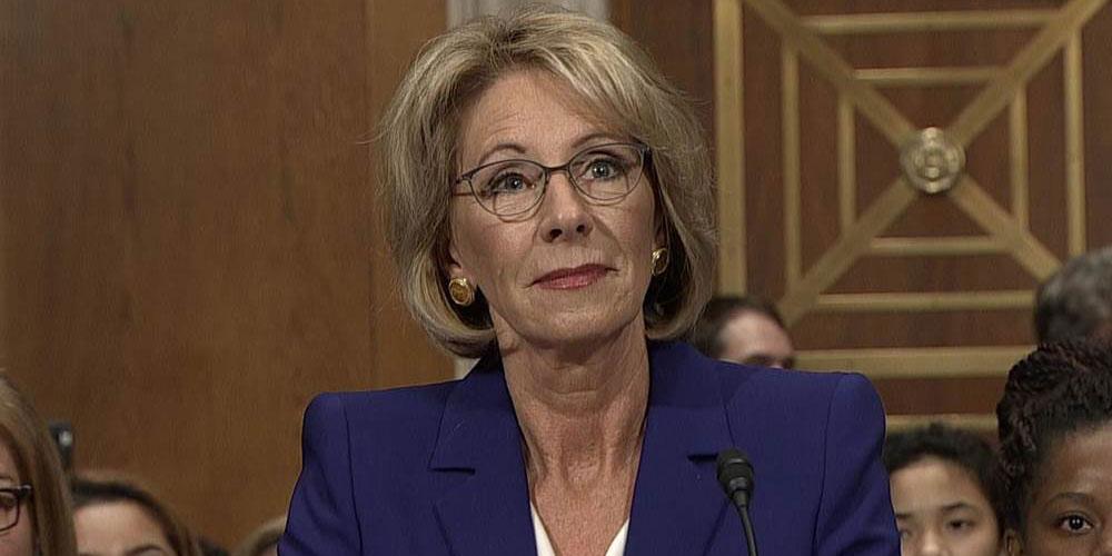 U.S. Education Secretary Betsy DeVos Will Let Schools Discriminate Against Students with LGBTQ Parents (Video)