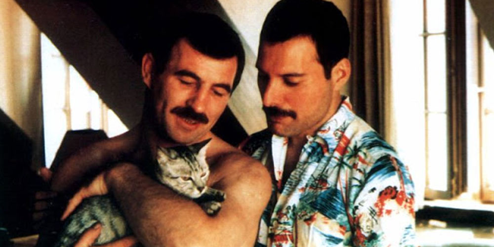 20 Rarely Seen Photos of Freddie Mercury and His Boyfriend Jim Hutton (Photos)