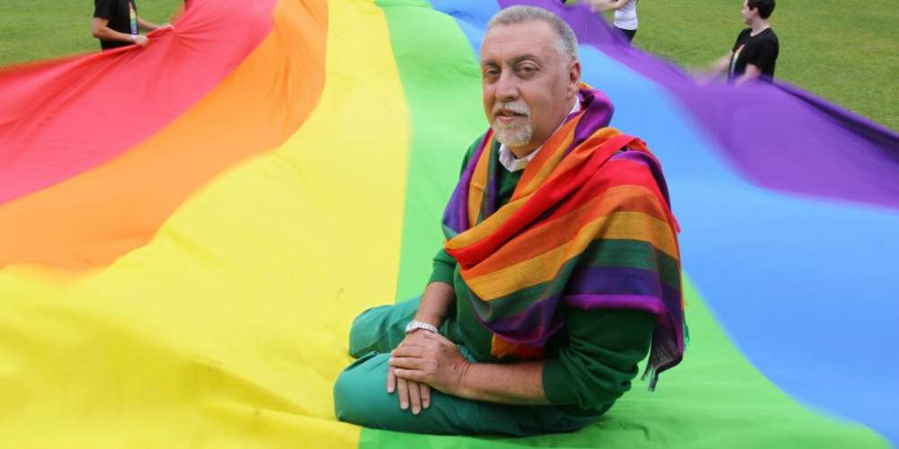 Google Honors Gilbert Baker, the Man Who Created Our LGBT Pride Rainbow Flag