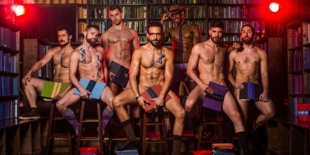 The Men of 'Broadway Bares: Strip U' Show Off Their Good Grades (NSFW)