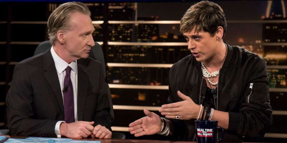 WTF? Bill Maher Wants to Have Milo Yiannopoulos Back on 'Real Time'