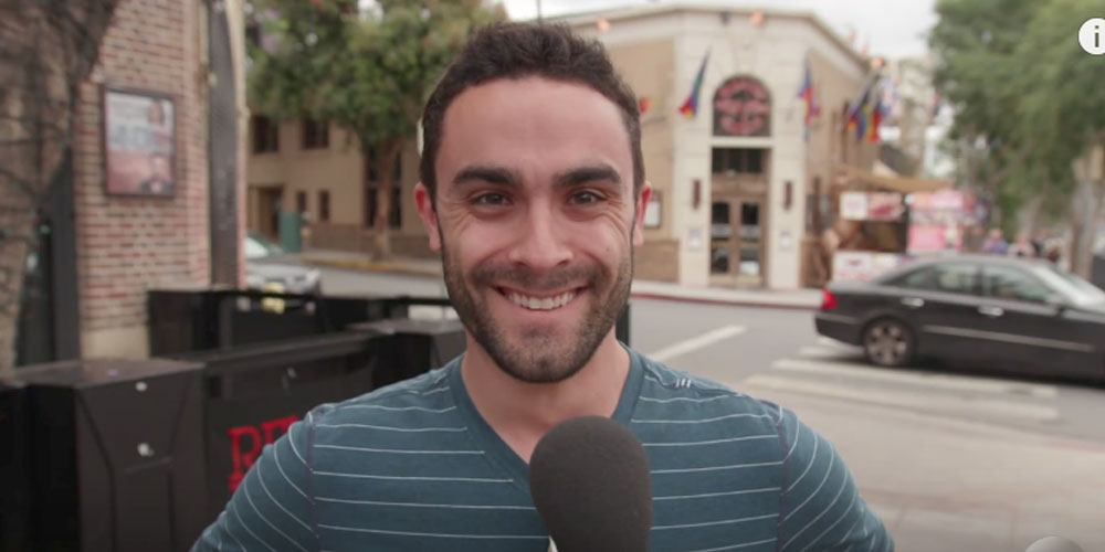 Jimmy Kimmel Asks WeHo Gays, 'What's the Straightest Thing You've Ever Done?' (Video)