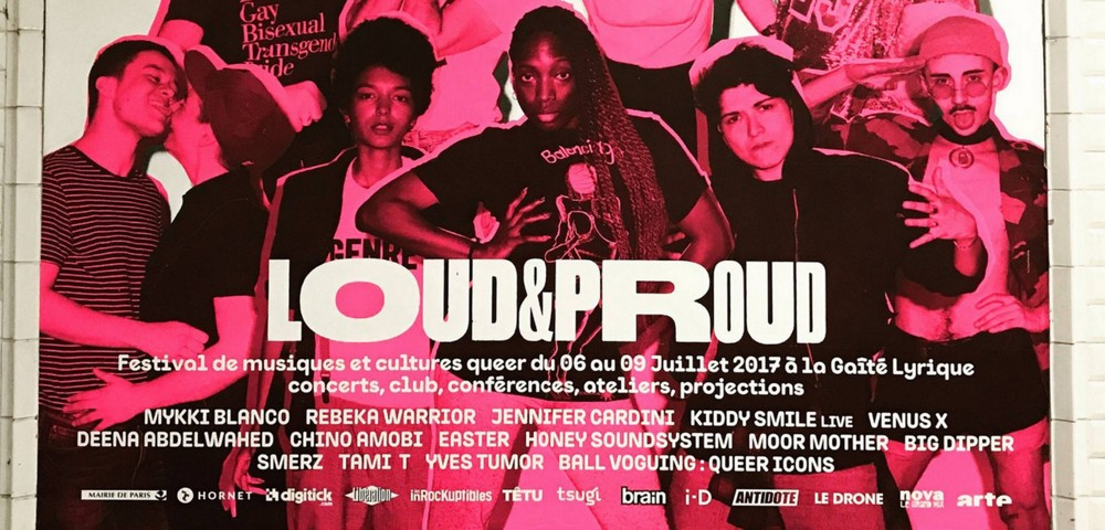 Des affiches du festival queer Loud & Proud arrachées dans le métro